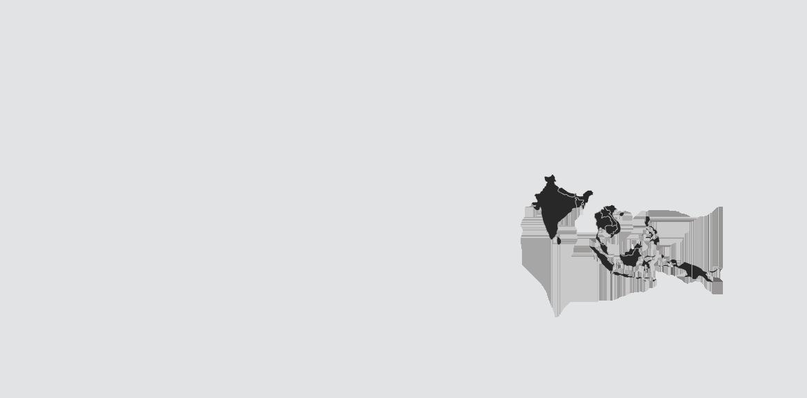 India Asia Map