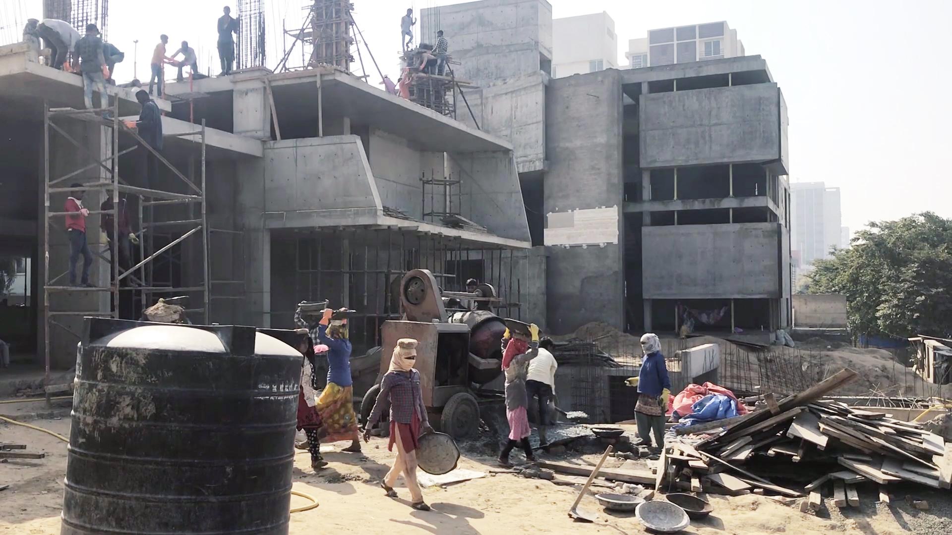 Live Construction site