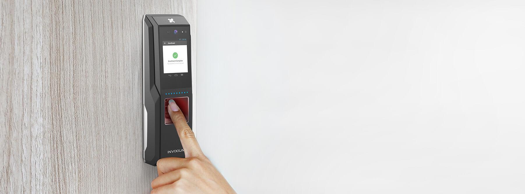 Fingerprint Biometrics Security