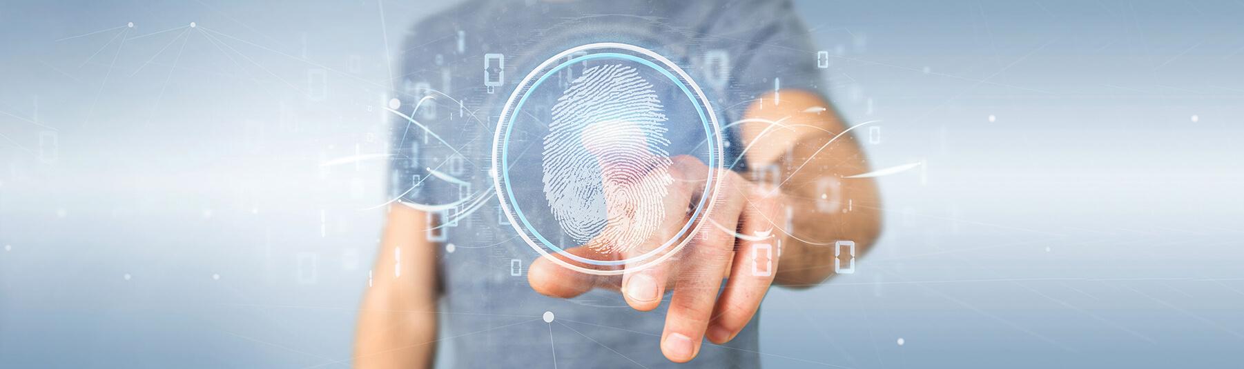 Fingerprint recognition access control