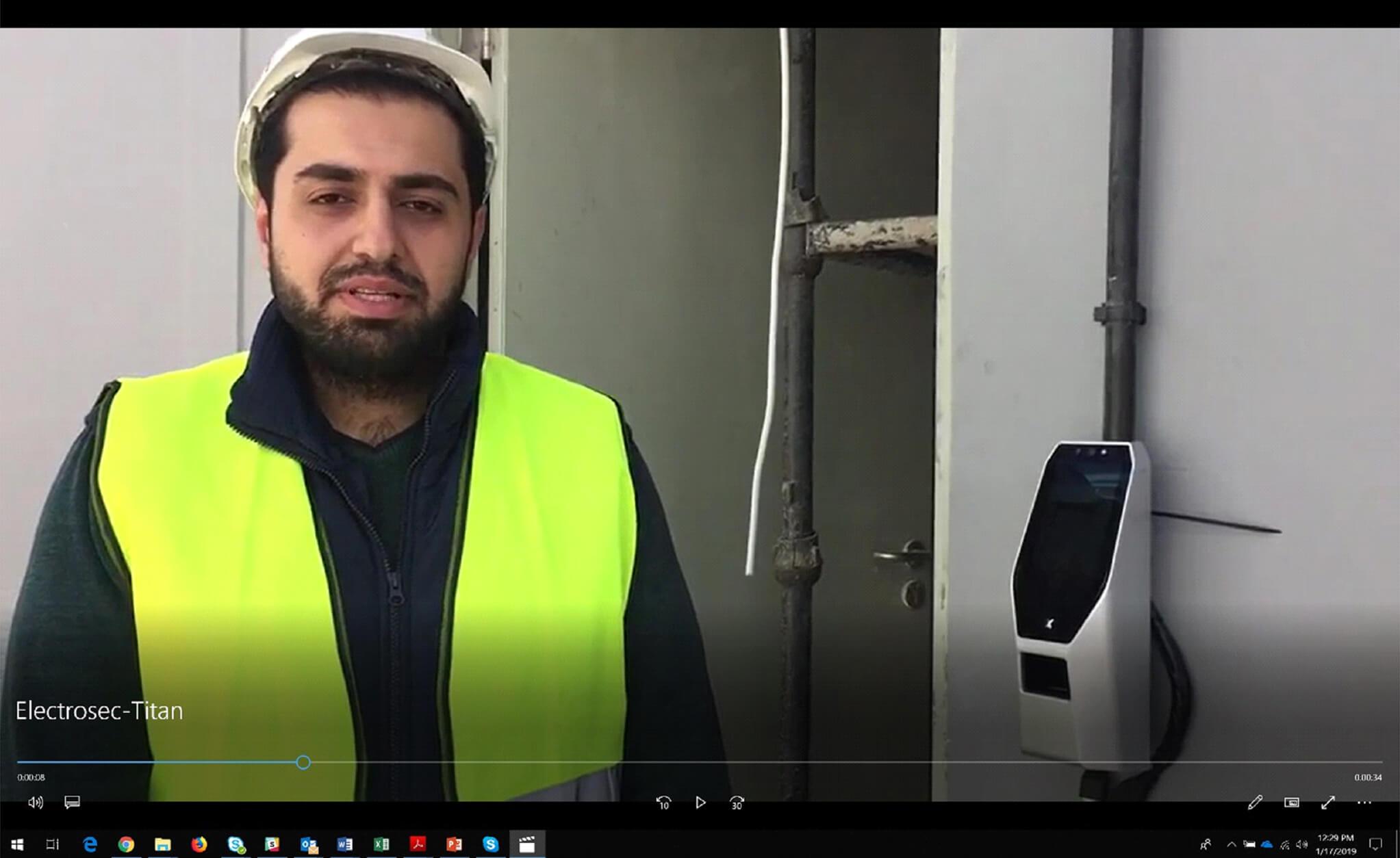 Mining Plant Access Control
