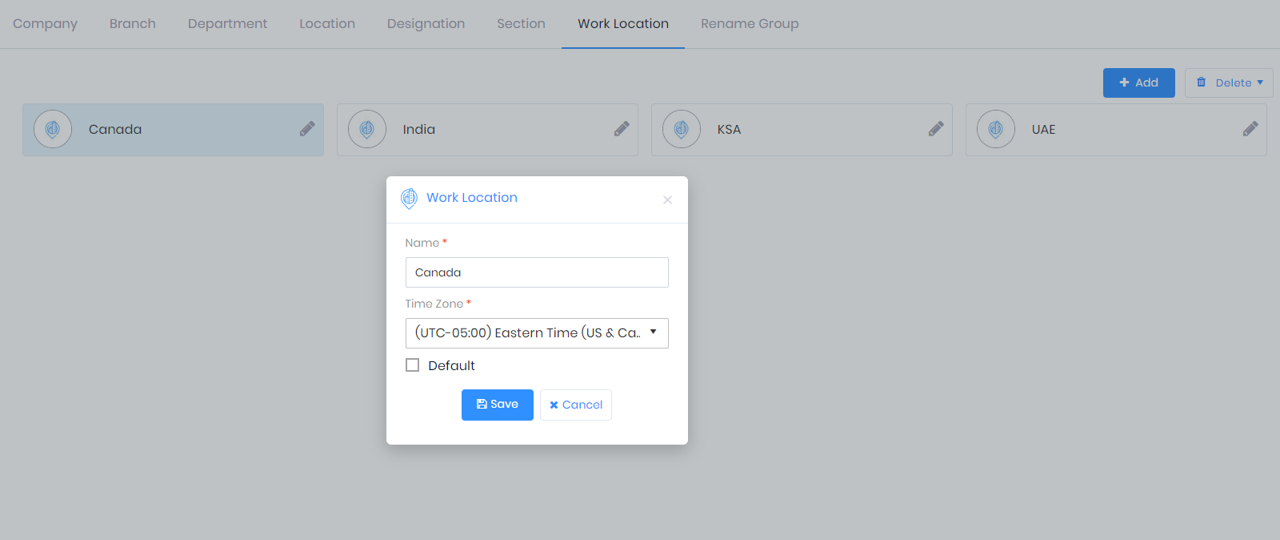 Timezone Management in IXM WEB 2.2