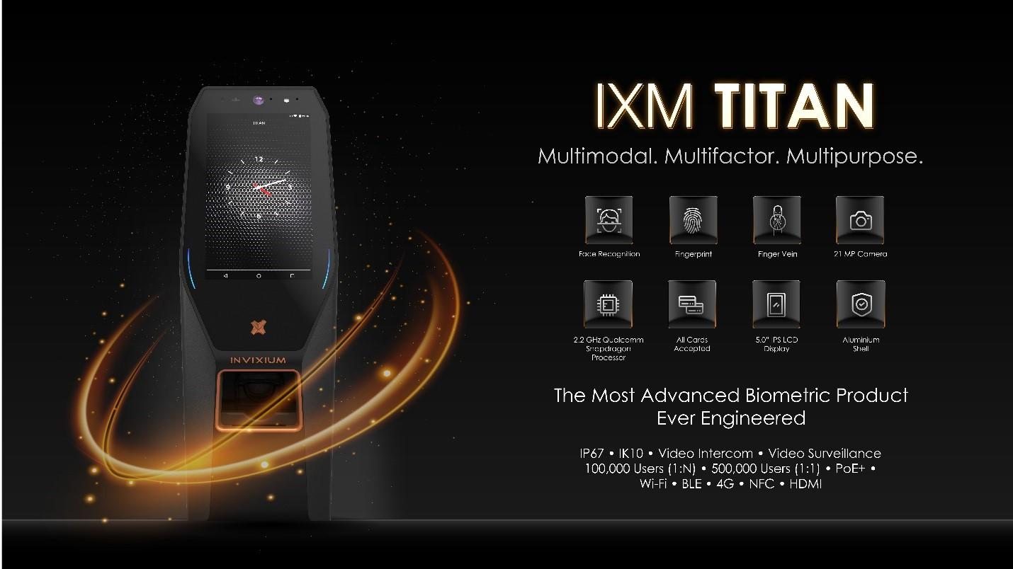 IXM TITAN : Advanced Biometric Product