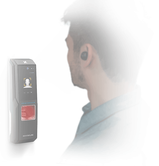 Touch 2 face recognition security system
