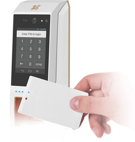 Card based access control solution