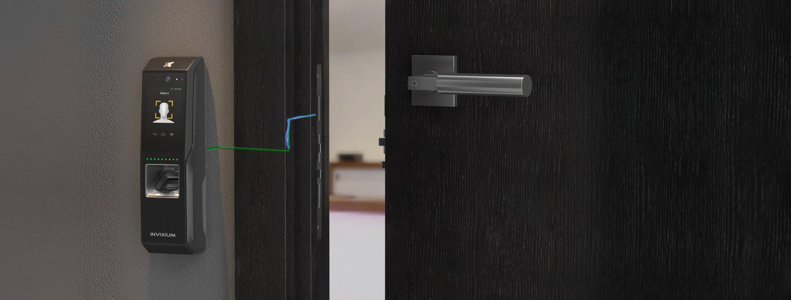 Door Access control TOUCH 2 FACE