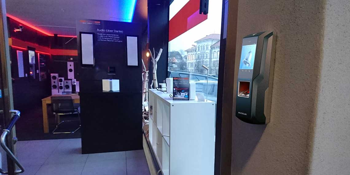 IXM TOUCH Installed at Inviting Showroom in Switzerland