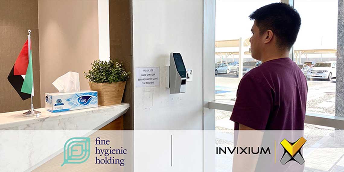 Fine Hygienic Holding Deploys Invixium