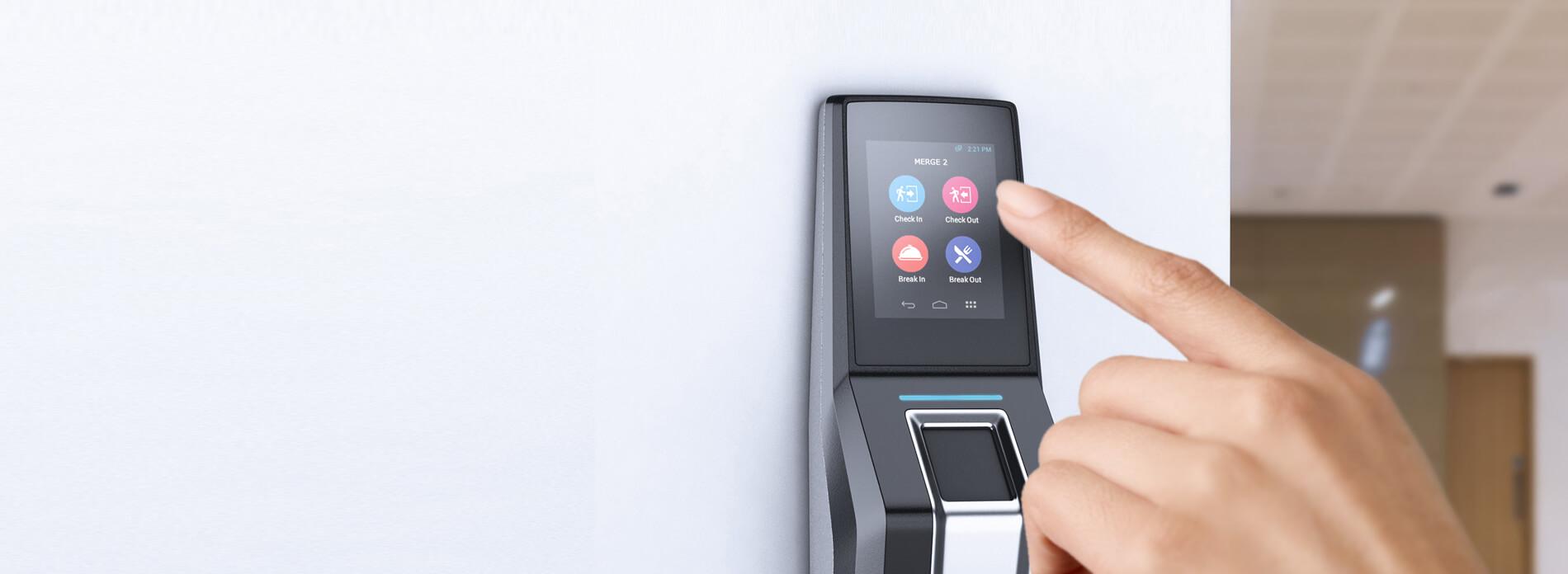 merge 2 biometric time tracking