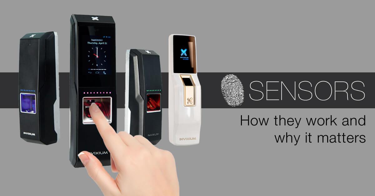 Invixium Device with Sensors