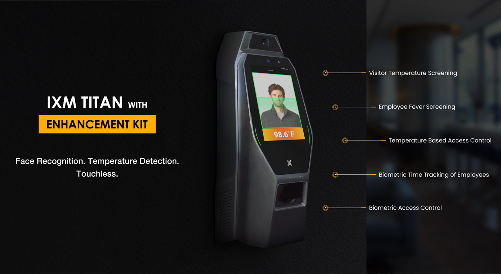 Temperature Access Control And Workforce Management Solution