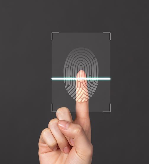 biometric or credential